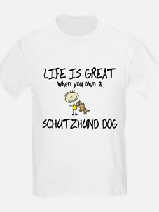 Life is Great Schutzhund T-Shirt