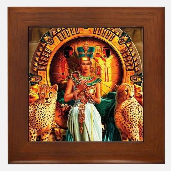 Queen Cleopatra Framed Tile