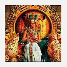 Queen Cleopatra Tile Coaster