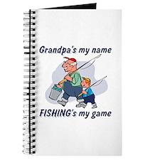 Fishing Grandpa Journal