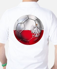 Poland Football Golf Shirt
