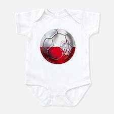 Poland Football Infant Bodysuit