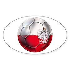 Poland Football Decal