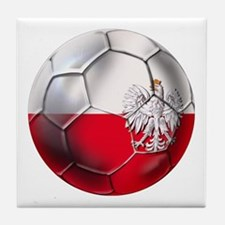 Poland Football Tile Coaster
