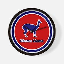 Obama Llama Wall Clock
