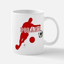 Polish Soccer Player Mug