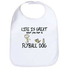 Life is Great Flyball Bib