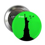Statue of Liberty Fourth of July Badges