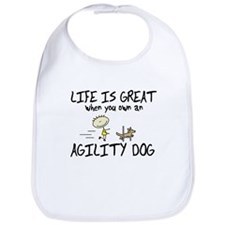 Life is Great Agility Bib