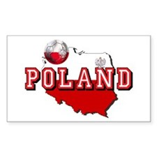 Polish Flag Map Decal