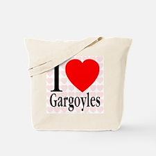 I Love Gargoyles Tote Bag