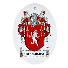 McNamara Coat of Arms Keepsake Ornament