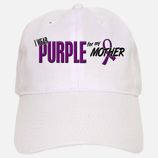 I Wear Purple For My Mother 10 Hat