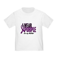 I Wear Purple For My Mother 10 T