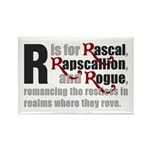 R is for Rascal Rectangle Magnet (10 pack)