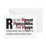 R is for Rascal Greeting Cards (Pk of 20)