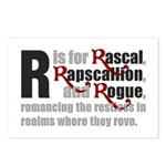 R is for Rascal Postcards (Package of 8)