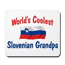 Coolest Slovenian Grandpa Mousepad