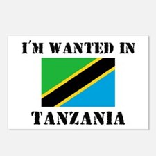 I'm Wanted In Tanzania Postcards (Package of 8)