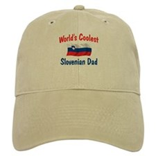 Coolest Slovenian Dad Baseball Cap