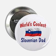 """Coolest Slovenian Dad 2.25"""" Button"""