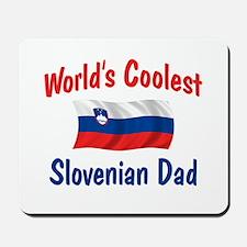 Coolest Slovenian Dad Mousepad