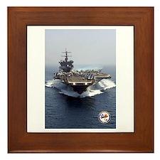 USS Enterprise CVN-65 Framed Tile