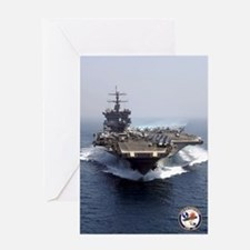 USS Enterprise CVN-65 Greeting Card