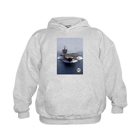 USS Enterprise CVN-65 Kids Hoodie