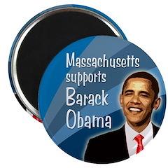Massachusetts Magnet for Barack Obama