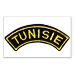 Tunisia Legion Rectangle Sticker