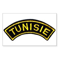 Tunisia Legion Rectangle Sticker 50 pk)