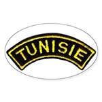 Tunisia Legion Oval Sticker