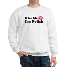 Kiss Me I'm Polish Jumper