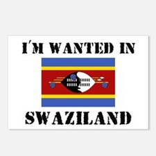 I'm Wanted In Swaziland Postcards (Package of 8)