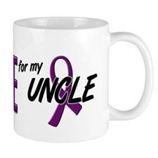 I Wear Purple For My Uncle 10 Mug