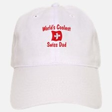 Coolest Swiss Dad Baseball Baseball Cap
