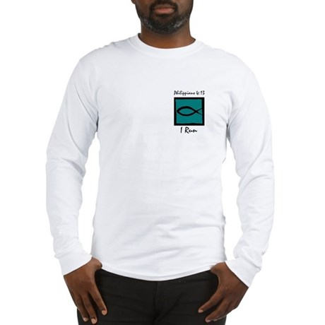 Christian Runner's Long Sleeve T-Shirt