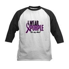 I Wear Purple For My Aunt 10 Tee