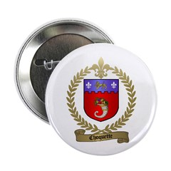 """CHOQUETTE Family Crest 2.25"""" Button (10 pack)"""