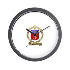 CHOQUETTE Family Crest Wall Clock