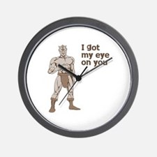 Cyclops Wall Clock