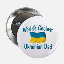 "Coolest Ukrainian Dad 2.25"" Button"