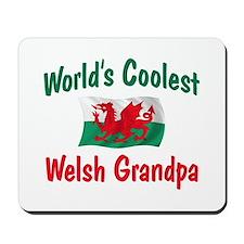 Coolest Welsh Grandpa Mousepad