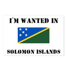 I'm Wanted In Solomon Islands Postcards (Package o