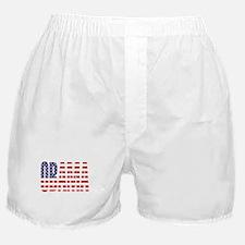 Barack Obama Democrat Flag Boxer Shorts