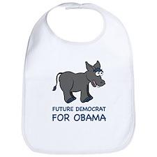 Future Democrat for Barack Obama Bib