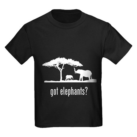 Elephants Kids Dark T-Shirt