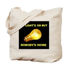 NOBODY HOME Tote Bag