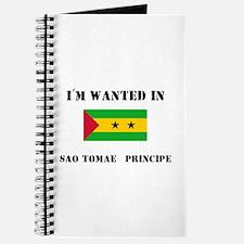 I'm Wanted In Sao Tomae & Principe Journal